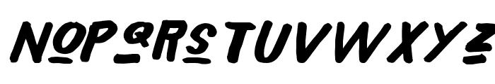 Xeno's! Font LOWERCASE