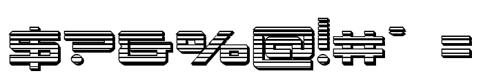 Xephyr Chrome Font OTHER CHARS
