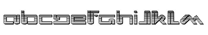 Xephyr Chrome Font UPPERCASE
