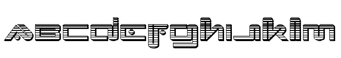 Xephyr Chrome Font LOWERCASE