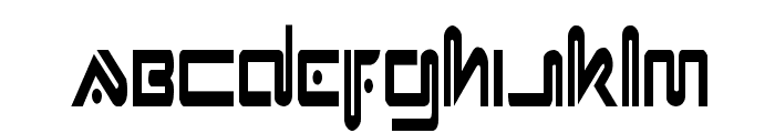 Xephyr Condensed Font LOWERCASE