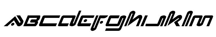 Xephyr Italic Font LOWERCASE