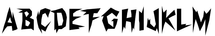 XerkerFW Font LOWERCASE