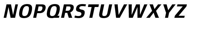 Xenois Sans Bold Italic Font UPPERCASE