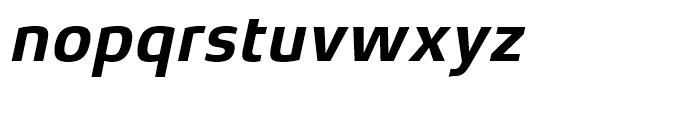 Xenois Sans Bold Italic Font LOWERCASE