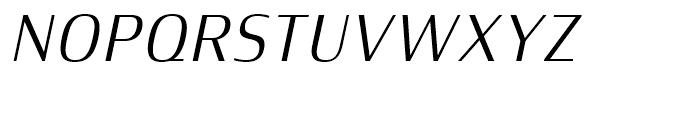 Xenois Semi Italic Font UPPERCASE