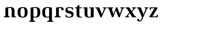 Xenois Serif Bold Font LOWERCASE