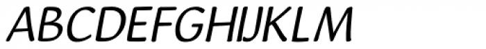 Xeilo Italic Font UPPERCASE