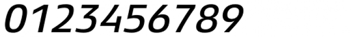 Xenois Sans Pro Medium Italic Font OTHER CHARS