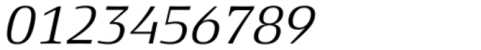 Xenois Serif Pro Italic Font OTHER CHARS