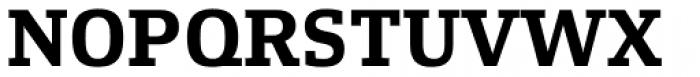 Xenois Slab Bold Font UPPERCASE