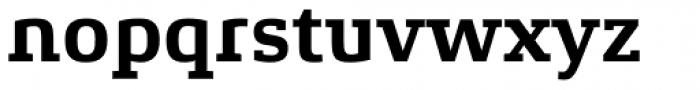 Xenois Slab Bold Font LOWERCASE