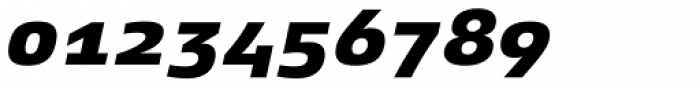 Xenois Super Heavy Italic Font OTHER CHARS