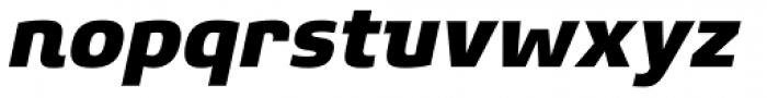 Xenois Super Heavy Italic Font LOWERCASE