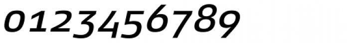 Xenois Super Medium Italic Font OTHER CHARS