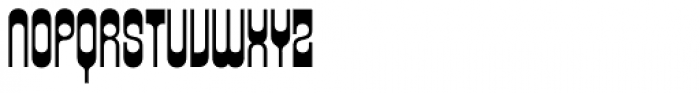 Xenotype Font UPPERCASE