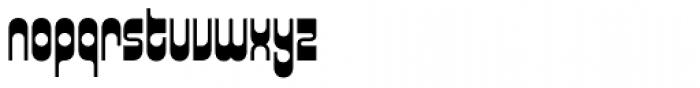 Xenotype Font LOWERCASE