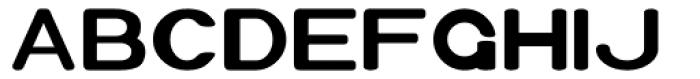 Xero Bold Font UPPERCASE