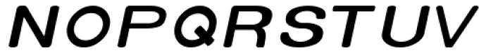 Xero Italic Font UPPERCASE