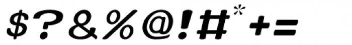 Xero Thin Italic Font OTHER CHARS