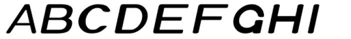 Xero Thin Italic Font UPPERCASE