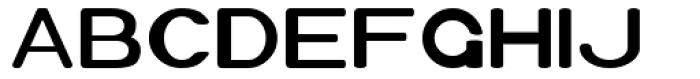 Xero Font UPPERCASE