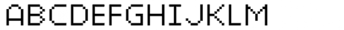 Xerxes Light Font UPPERCASE