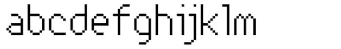 Xerxes Light Font LOWERCASE