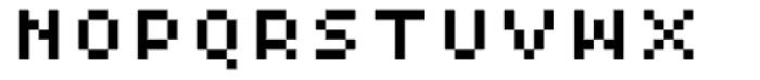 Xerxes Regular Low Font UPPERCASE