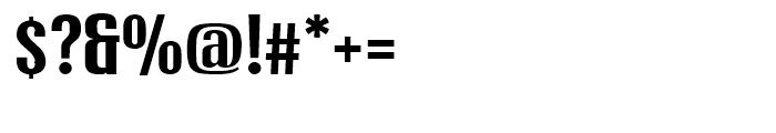 Xheighter Light Original Font OTHER CHARS