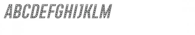 Xhers Alove Italic Font UPPERCASE