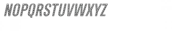 Xhers Alove Italic Font LOWERCASE