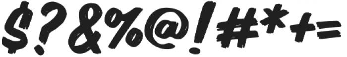 Xign Painter Regular otf (400) Font OTHER CHARS