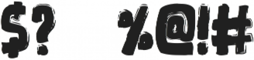 Xiovus otf (400) Font OTHER CHARS