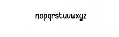 Xiluman.otf Font LOWERCASE