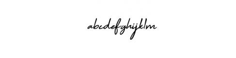 Xinden.ttf Font LOWERCASE