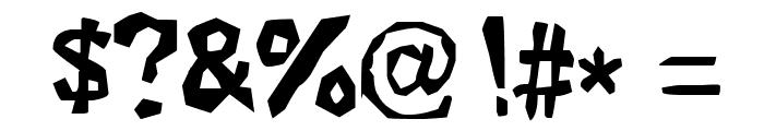 Xilo Galdino 2 Font OTHER CHARS