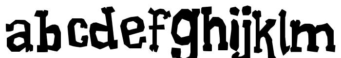 Xilo Galdino 2 Font LOWERCASE
