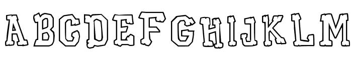 Xilo Galdino Cast Font LOWERCASE