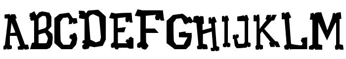 Xilo Galdino Font UPPERCASE