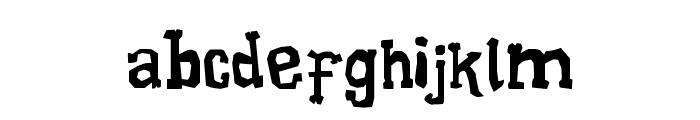 Xilo Galdino Font LOWERCASE