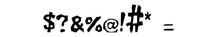 Xilo Prosa Font OTHER CHARS