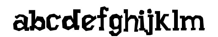 Xilo Prosa Font LOWERCASE