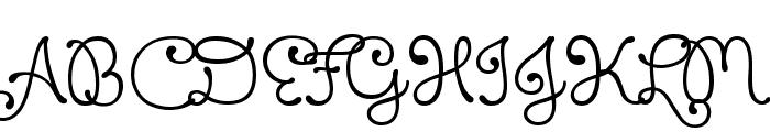 Xiomara Font UPPERCASE