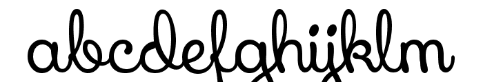 Xiomara Font LOWERCASE