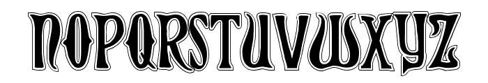 Xiphos College Font LOWERCASE