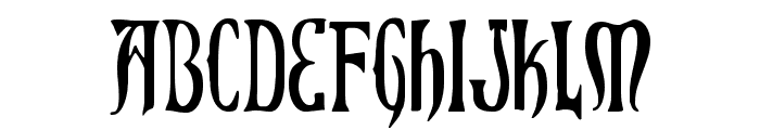 Xiphos Condensed Font LOWERCASE