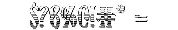 Xiphos Gradient Castle Font OTHER CHARS