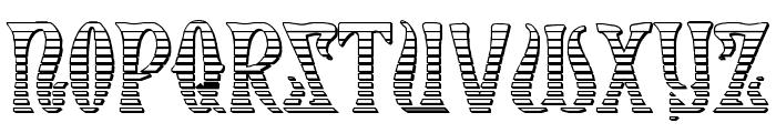 Xiphos Gradient Castle Font UPPERCASE