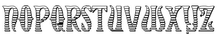 Xiphos Gradient Castle Font LOWERCASE